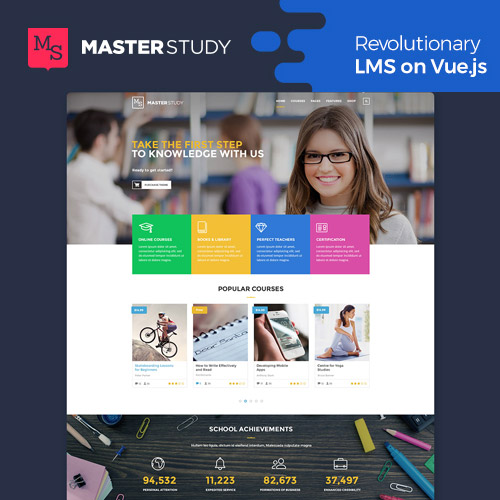 Masterstudy Education – LMS WordPress Theme