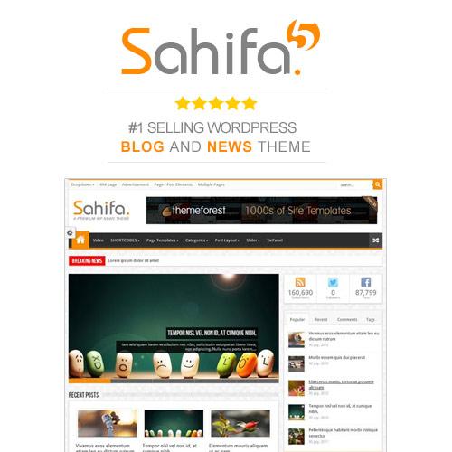 Sahifa Theme | Responsive News Magazine Blog Theme