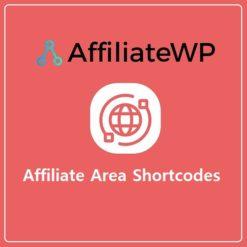 Affiliate Area Shortcodes