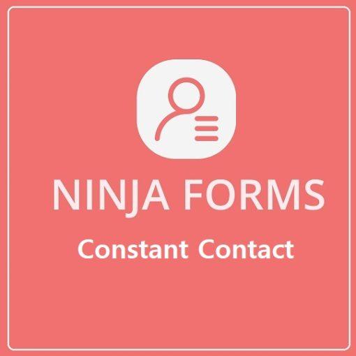 Ninja Forms Constant Contact