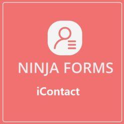 ninja forms iContact