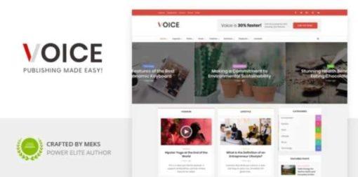 Voice - News Magazine WordPress Theme