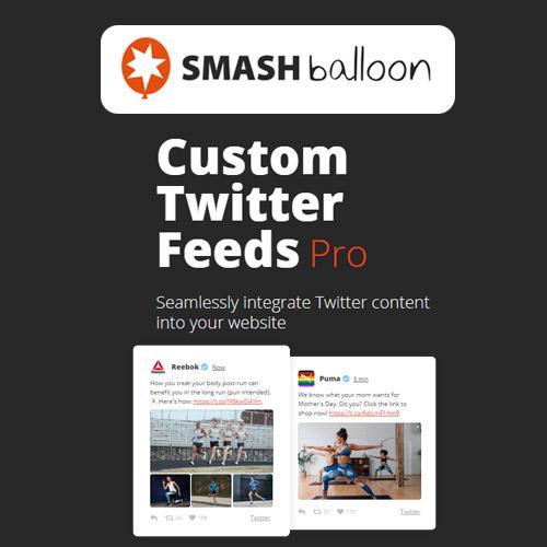 Custom Twitter Feeds Pro By Smash Balloon