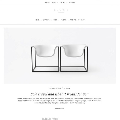 StudioPress Slush Pro Genesis WordPress Theme