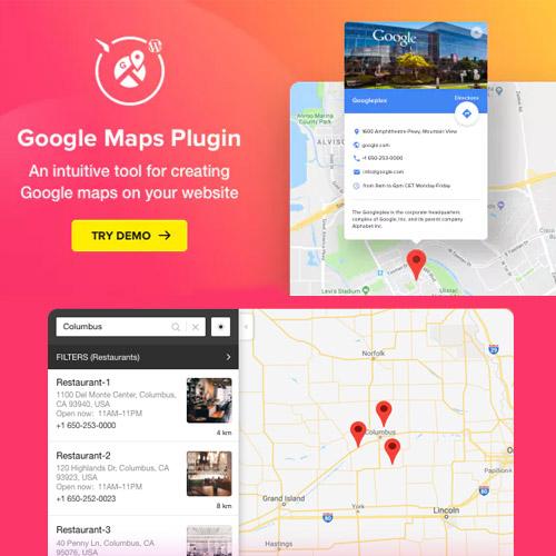 Google Maps - WordPress Map Plugin