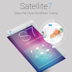 Satellite7 - Retina Multi-Purpose WordPress Theme