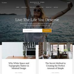 StudioPress Essence Pro Genesis WordPress Theme