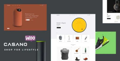 Casano - Fashion & Accessories WooCommerce Theme