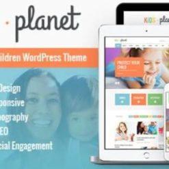 Kids Planet - A Multipurpose Children WordPress Theme