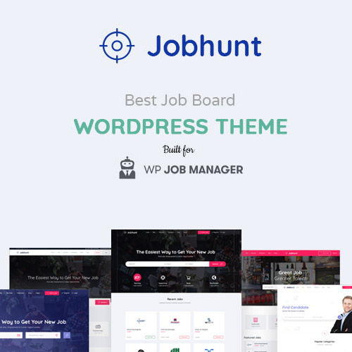Jobhunt - Job Board WordPress theme for WP Job Manager
