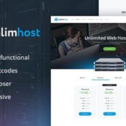 UnlimHost - Web Hosting & Internet Technology WordPress Theme