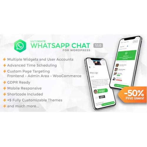 Ultimate WhatsApp Chat - WordPress WhatsApp Chat Support Plugin