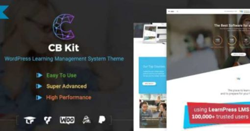 Course & LMS WordPress Theme | CBKit