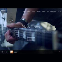 Themify Music WordPress Theme
