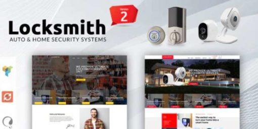 Locksmith - Security Systems WordPress Theme