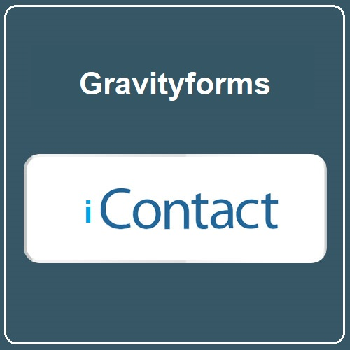 Gravity Forms IContact Addon