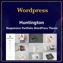 Huntington – Responsive Portfolio WordPress Theme
