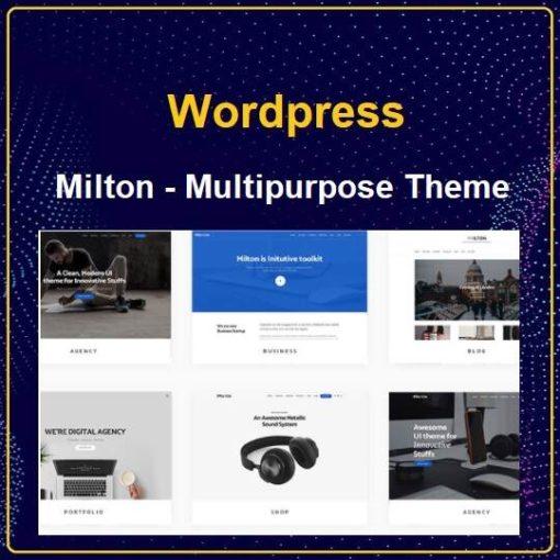 Milton | Multipurpose Creative WordPress Theme