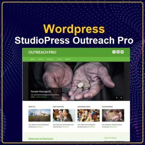 StudioPress Outreach Pro Genesis WordPress Theme
