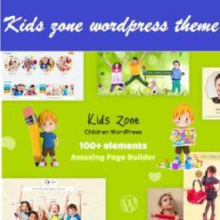 Kids Zone - Children WordPress