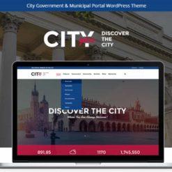 City Government & Municipal Portal Political WordPress Theme