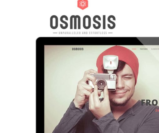 Osmosis - Responsive Multi-Purpose WordPress Theme