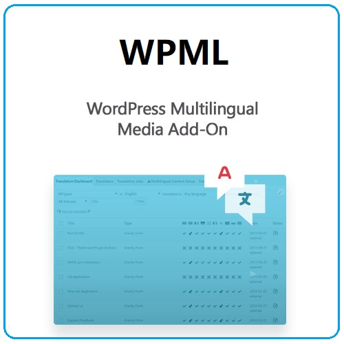 WordPress Multilingual Media Add-On