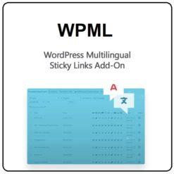 WordPress Multilingual Sticky Links Add-On