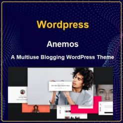 Anemos - A Multiuse Blogging WordPress Theme