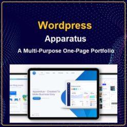 Apparatus   A Multi-Purpose One-Page Portfolio Theme