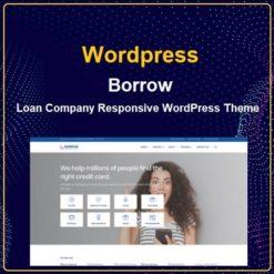 Loan Company Responsive WordPress Theme