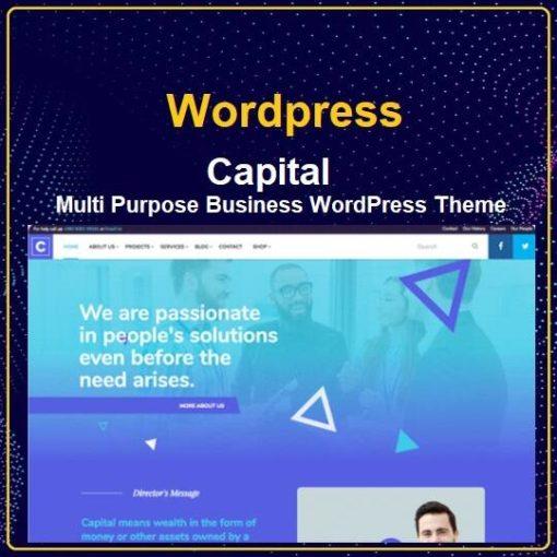 Multi Purpose Business WordPress Theme