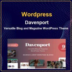 Versatile Blog and Magazine WordPress Theme