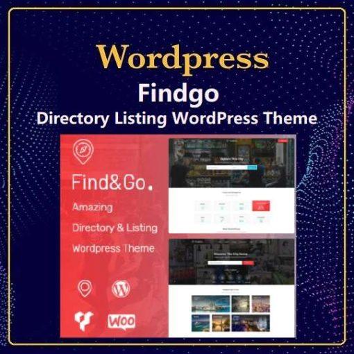 Findgo - Directory Listing WordPress Theme