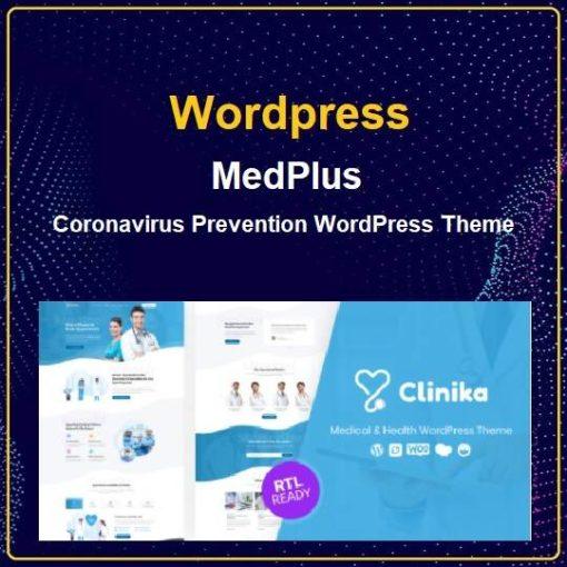 Coronavirus Prevention WordPress Theme