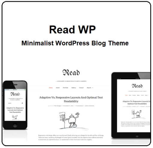 Minimalist WordPress Blog Theme