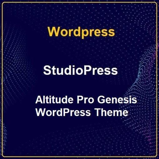 StudioPress Altitude Pro Genesis WordPress Theme