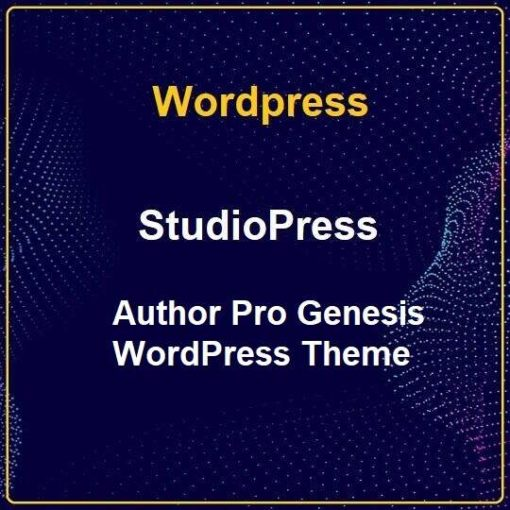 StudioPress Author Pro Genesis WordPress Theme