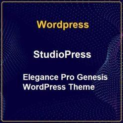 StudioPress Elegance Pro Genesis WordPress Theme