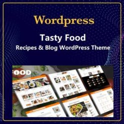 Recipes & Blog WordPress Theme