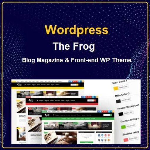 Blog Magazine & Front-end Submission WP Theme