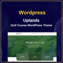 Golf Course WordPress Theme