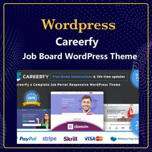 careerfy theme