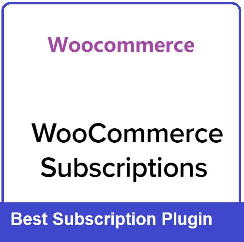 woocommerce-subscription