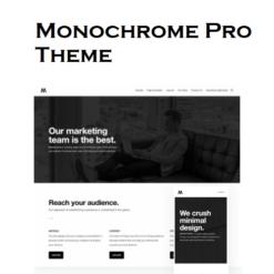 StudioPress Monochrome Pro Genesis WordPress Theme