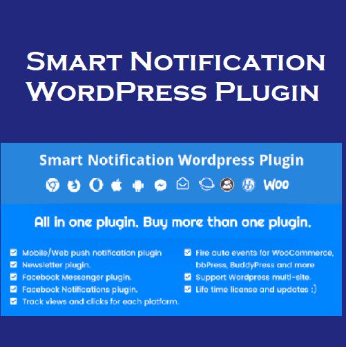 Smart Notification WordPress Plugin