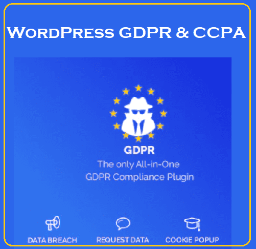 WordPress GDPR & CCPA