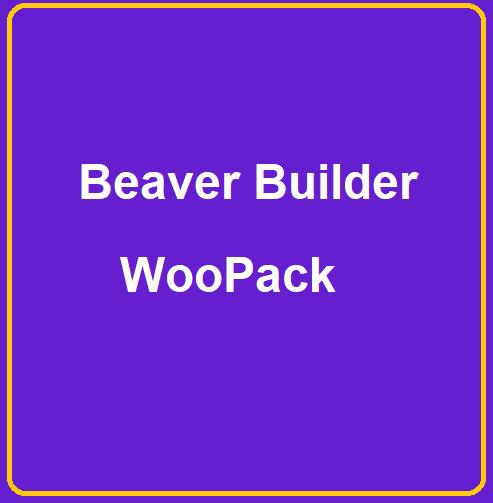 beaver builder woopack