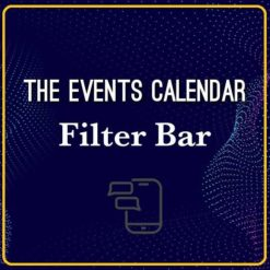 event calandar filter bar