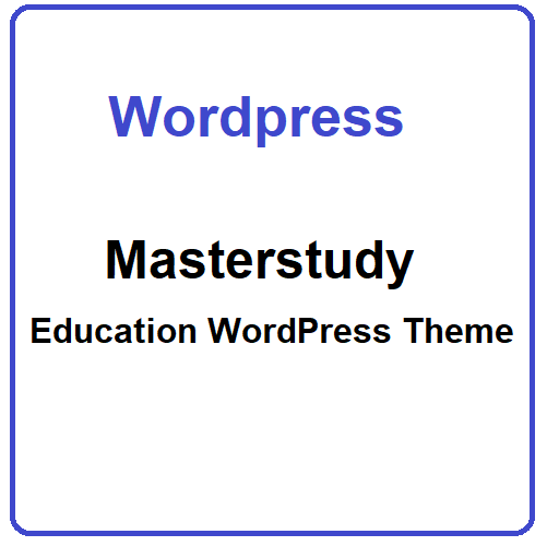 Masterstudy Education WordPress Theme